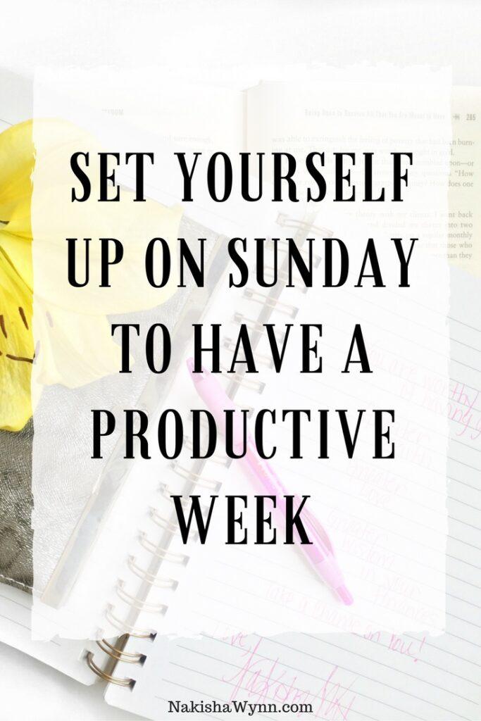 productive week too
