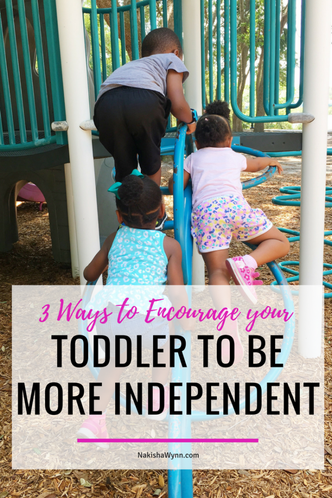 toddler independence