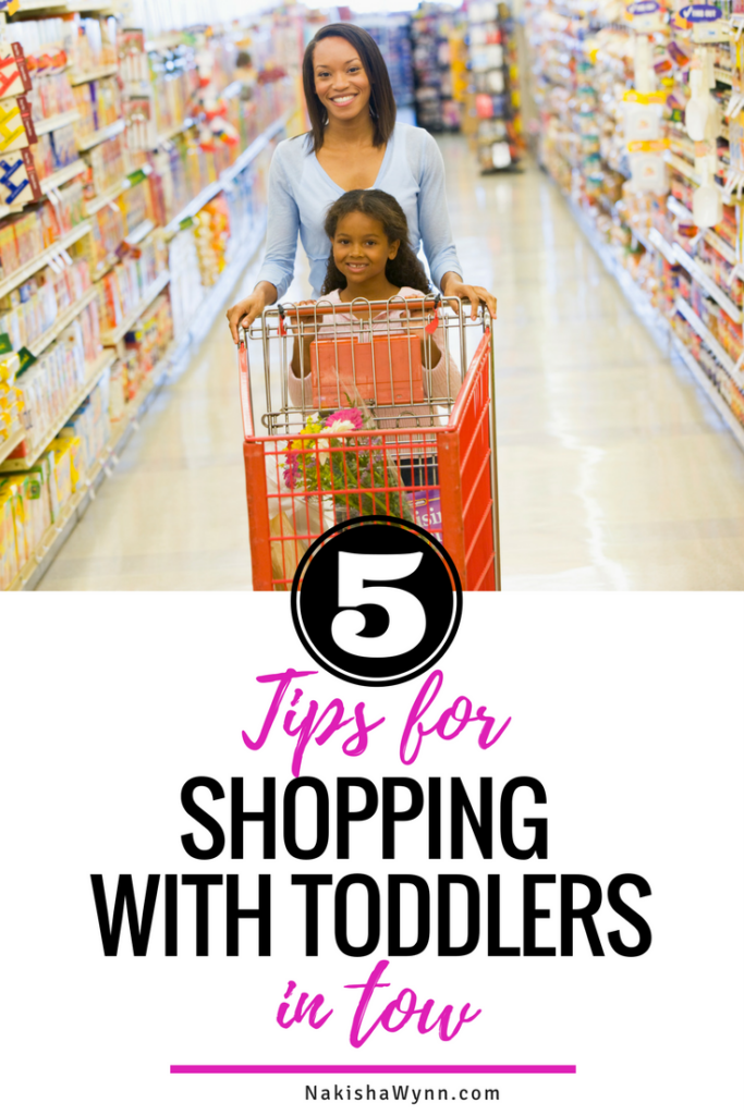 toddler shopping