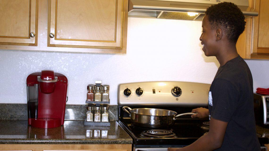 preteen cook