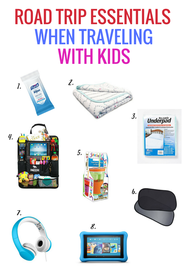 Road Trip Essentials When Traveling With Small Kids