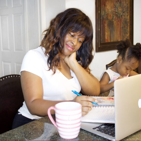finding balance as a work at home mom