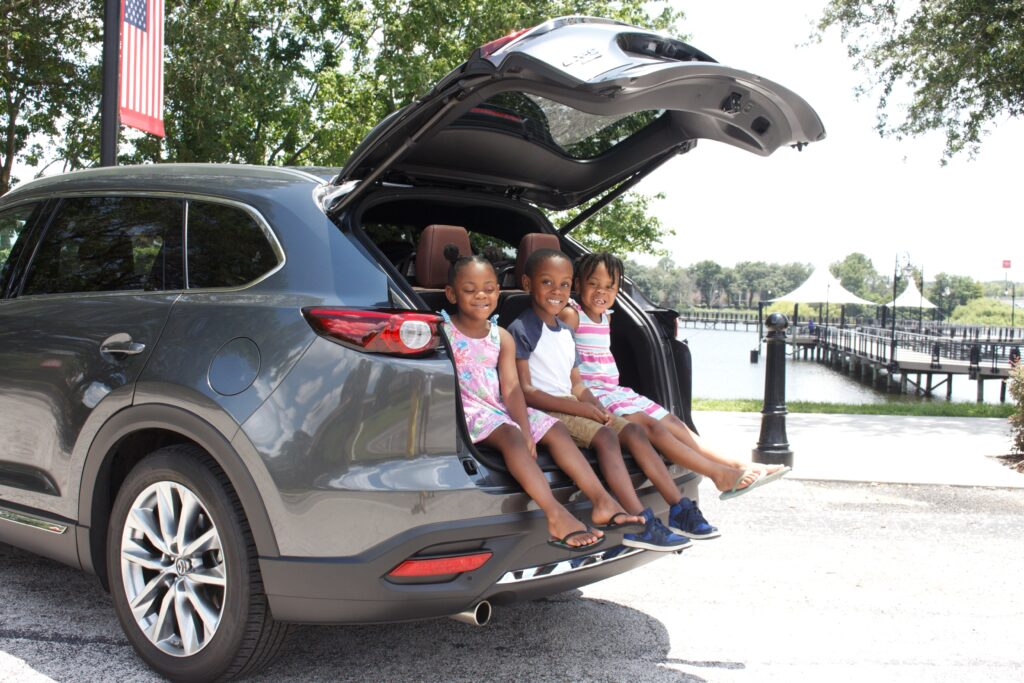 stress free family road trip
