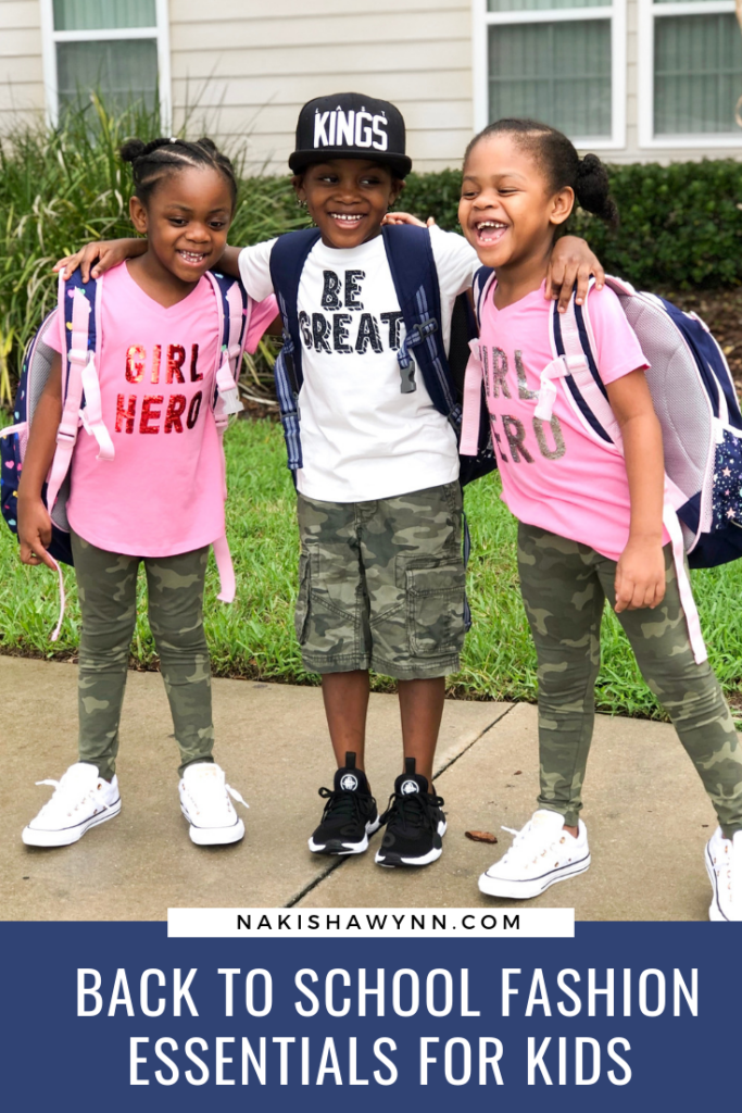 back to school fashion essentials for elementary kids