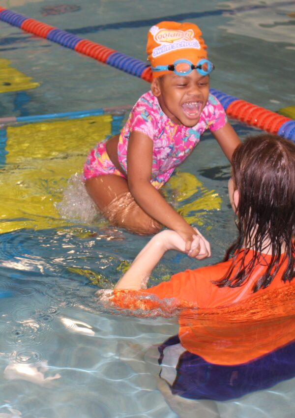 Swimming Lessons for the Kids at Goldfish Swim School
