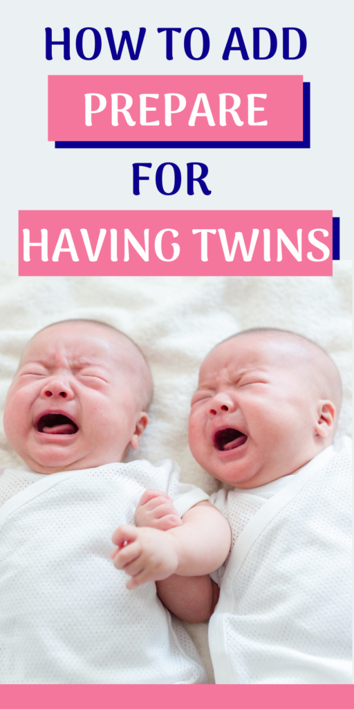 preparing for twins